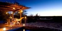 Viaggio in Sud Africa: il Kalahari e l' eco-lodge nella riserva. Turismo sostenibile in Sud Africa