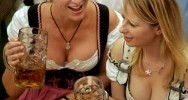 Oktoberfest 2009 a Monaco di Baviera dal 19 Settembre al 4 Ottobre 2009. La Festa della Birra