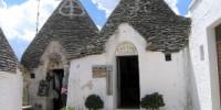 Capodanno 2010 in Puglia ad Alberobello: hotel e itinerario di viaggio. La Masseria Barsentum e Noci