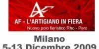 L' Artigiano in Fiera a Milano dal 5 al 13 Dicembre 2009: la fiera dell' artigianato di Milano. Shopping di Natale