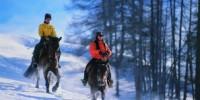 Vacanze Benessere in Trentino Alto Adige: equitazione sulla neve e Centro Benessere Spa a Pedraces