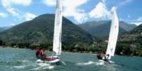 Vacanze weekend a Domaso-Lago di Como con i corsi di vela di Horca Myseria. Da Maggio ad Ottobre 2010