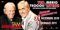 Eventi Milano Capodanno 2011: spettacolo Teo Teocoli notte del 31 Dicembre 2010 e del 1 Gennaio 2011
