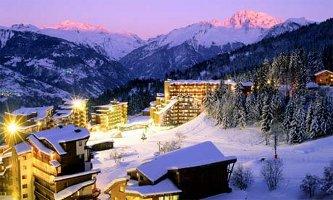 Settimana bianca in francia a la tania vacanze in for Noleggio cabina di lusso in montagna in virginia