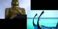 Offerte viaggio Aprile-Maggio-Giugno 2011: Tour 6 giorni Sri Lanka + 5 notti alle Maldive a Paradise Island