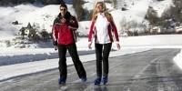 Settimana bianca sulla neve a Passo Resia (Bolzano-Trentino Alto Adige): sci e pattinaggio sul ghiaccio