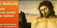 A Milano la mostra su Bellini, Botticelli e Pollaiolo di Omar Galliani. Dal 16 Settembre al 23 Ottobre 2011