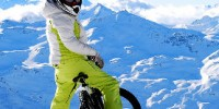 Sport invernali sulla neve in Val Thorens (Francia), Trentino Alto Adige, Valle d' Aosta, Lombardia