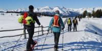 Vacanze in montagna a Velturno (Bolzano-Trentino Alto Adige): escursioni sulla neve  e slittino nella Valle Isarco