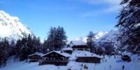 Vacanze invernali in Valle d' Aosta: Courmayeur, Plain Maison e La Thuile. Piste da sci e ristoranti