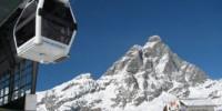 Vacanze a Breuil-Cervinia (Valle d' Aosta): sciare sulla pista del Ventina e nell' area ski di Cielo Alto