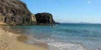 Vacanza al mare nell' isola di Lanzarote (Canarie-Spagna): le spiagge di Papagayo e di Famara