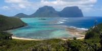 Viaggio in Australia: vacanza nell' isola di Lord Howe. Cosa vedere a Lord Howe Island: mare ed entroterra