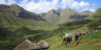 Itinerario viaggio Lesotho (Sudafrica): parco naturale, la capitale Maseru, villaggio di Teyateyaneng
