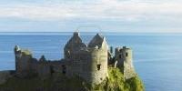 Tour dei castelli dell' Irlanda del Nord: Dunluce, Dundrum,  fortezza di Green Castle