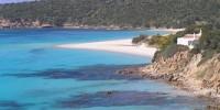 Le migliori spiagge della Baia di Chia e gli alberghi. Vacanze in Sardegna