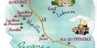 Viaggio Provenza: Eyguières, Avignone, Aix-en-Provence, Parc Naturel di Luberon, Saint-Rémy