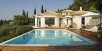 Grecia-isola di Corfù casa vacanza: affitto settimanale Villa Carolina a Corfù