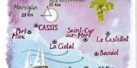 Vacanza a Cassis (Provenza): costa dei Calanchi, Bandol e la strada del vino