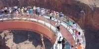 Tour Grand Canyon Skywalk: passerella sospesa nel vuoto in Arizona-Stati Uniti