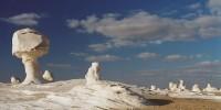 Egitto-Tour nel Deserto Bianco egiziano tra le oasi di Bahariya e Farafra