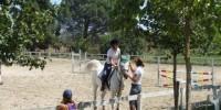 Lazio-Viterbo: agriturismo la Bicoca. Maneggio privato, due piscine all' aperto