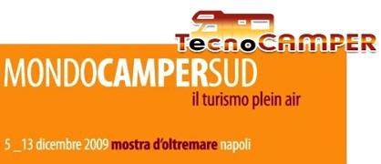 Fiera Mondo Camper Sud 2009 a Napoli dal 5 al 13 Dicembre 2009 viaggi in camper e offerte vacanze