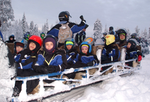 Offerta Viaggio Dicembre 2009 vacanza famiglia in Lapponia dal 4 all 8 Dicembre 2009