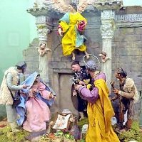Al Campidoglio di Roma la mostra dei presepi fino all Epifania il presepe monumentale è la novità 2009-2010