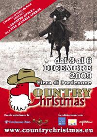 Eventi Dicembre 2009 fiera Country Christmas a Pordenone dal 3 al 6 Dicembre 2009