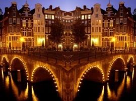 Offerte Viaggio Gennaio 2010 vacanze Epifania ad Amsterdam. Pacchetto viaggio di 4 o 5 giorni con Volo