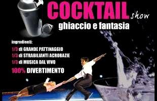 Spettacolo di Pattinaggio sul Ghiaccio a Sesto San Giovanni Milano il 30 Gennaio 2010 Cocktail Show