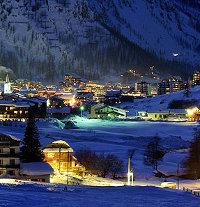 Vacanze in montagna Val D' Isere in Francia. Vacanze sulla neve la pista da sci Face de Bellevarde