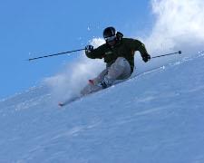 Vacanze sulla neve Wengen Svizzera. Montagna e neve per sciare sulla pista del Lauberhorn
