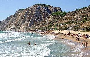 Vacanze in Sicilia itinerario di viaggio da Siculiana centro a Siculiana Marina in provincia di Agrigento